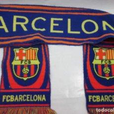 Coleccionismo deportivo: ANTIGUA BUFANDA F.C.BARCELONA. Lote 102728515