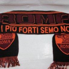 Coleccionismo deportivo: ANTIGUA BUFANDA ROMA. Lote 102729675