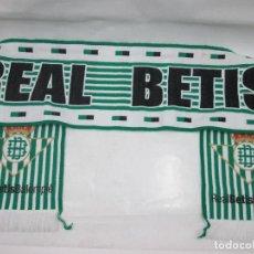Coleccionismo deportivo: ANTIGUA BUFANDA REAL BETIS BALOMPIE. Lote 102731499