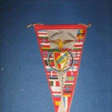Coleccionismo deportivo: RARISIMO BANDERIN DEL CAMPEONATO DE EUROPA DE 1961/1962 1961/62 - ACTUAL COPA DE EUROPA. Lote 102814191