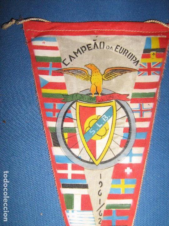 Coleccionismo deportivo: RARISIMO BANDERIN DEL CAMPEONATO DE EUROPA DE 1961/1962 1961/62 - ACTUAL COPA DE EUROPA - Foto 2 - 102814191