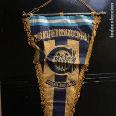 Coleccionismo deportivo: BANDERIN CLUB ATLÉTICO ROSARIO CENTRAL. AÑOS 70. Lote 103259682