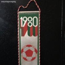 Coleccionismo deportivo: BANDERIN FUTBOL. OLIMPIADAS MOSCÚ 1980. Lote 103368584