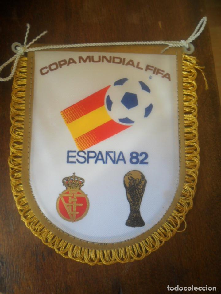PEQUEÑO BANDERIN DE COPA MUNDIAL FIFA ESPAÑA 1982 (Coleccionismo Deportivo - Banderas y Banderines de Fútbol)