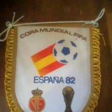 Coleccionismo deportivo: PEQUEÑO BANDERIN DE COPA MUNDIAL FIFA ESPAÑA 1982 . Lote 103562099
