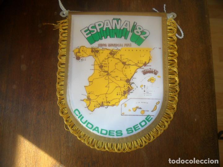 Coleccionismo deportivo: PEQUEÑO BANDERIN DE COPA MUNDIAL FIFA ESPAÑA 1982 - Foto 3 - 103562099
