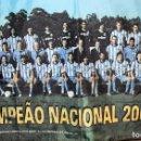 Coleccionismo deportivo: BANDERA OFICIAL DEL FÚTBOL CLUB DE OPORTO - CAMPEÓN NACIONAL 2002/2003 140X85 CM. Lote 103997735