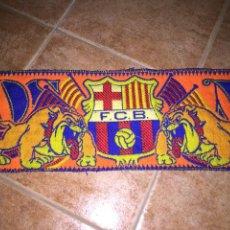 Coleccionismo deportivo: BUFANDA BOIXOS NOIS FC BARCELONA BARÇA. Lote 144811294