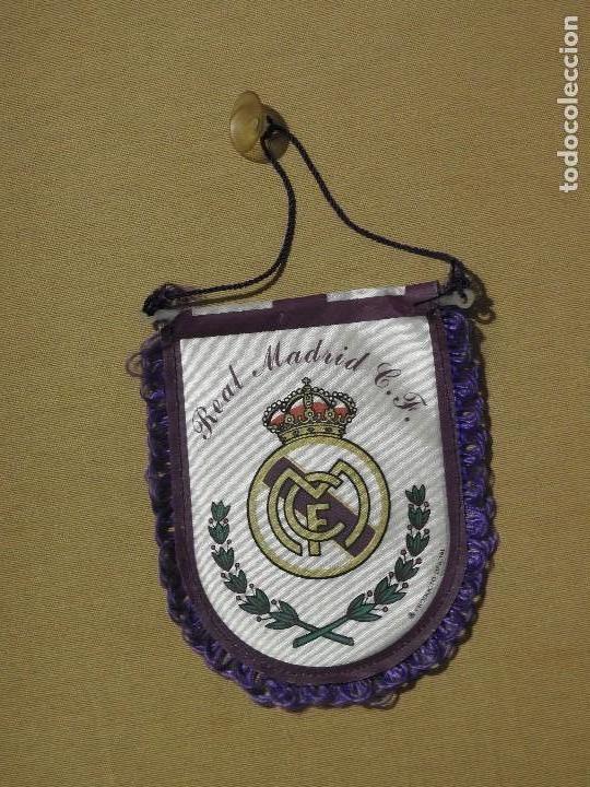 BANDERIN REAL MADRID FUTBOL (Coleccionismo Deportivo - Banderas y Banderines de Fútbol)