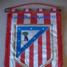 Coleccionismo deportivo: ANTIGUO BANDERIN CLUB ATLETICO DE MADRID SAD. Lote 106625319