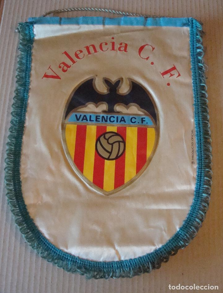 ANTIGUO BANDERIN VALENCIA C. F. (Coleccionismo Deportivo - Banderas y Banderines de Fútbol)