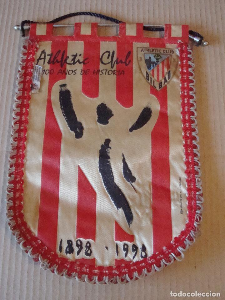 ANTIGUO BANDERIN ATHLETIC CLUB BILBAO (Coleccionismo Deportivo - Banderas y Banderines de Fútbol)