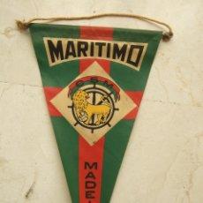 Coleccionismo deportivo: BANDERIN FUTBOL - MARITIMO - MADEIRA - 27X14. Lote 106767735