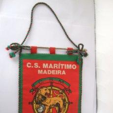 Coleccionismo deportivo: BANDERIN FUTBOL - C.S. MARITIMO - MADEIRA - 20X13. Lote 106768555