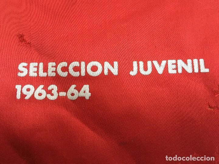 Coleccionismo deportivo: ANTIGUO BANDERIN FEDERACION CATALANA DE FUTBOL SELECCION JUVENIL 1963 1964 - Foto 4 - 107290355