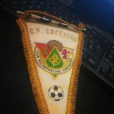 Coleccionismo deportivo: PLUB PILIDEPORTIVO CACEREÑO. BANDERIN ANTIGUO. Lote 110140700