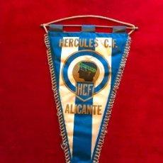 Coleccionismo deportivo: HÉRCULES C.F BANDERIN DE TELA AÑOS 80. Lote 240352160