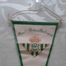 Coleccionismo deportivo: REAL BETIS. BANDERIN PEQUEÑO. Lote 110819487