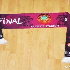 Coleccionismo deportivo: BUFANDA EURO 2012 .UCRANIA .FINAL. Lote 110829771