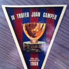 Coleccionismo deportivo: FC BARCELONA. BANDERÍN GAMPER 69, ADHESIVO.. Lote 111301479