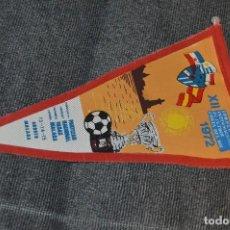 Coleccionismo deportivo: ANTIGUO BANDERÍN - XII TORNEO INTERNACIONAL DE FÚTBOL COSTA DEL SOL 1972 - VINTAGE - ANTIGUO. Lote 128080246