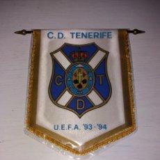 Coleccionismo deportivo: ANTIGUO BANDERÍN CD TENERIFE - UEFA 93-94. Lote 114022955