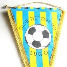 Coleccionismo deportivo: BANDERIN PENNANT CLUB DEPORTIVO LUGO FUENLABRADA FUTBOL CF 45 X 29 CM MADRID. Lote 116066347