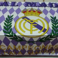 Coleccionismo deportivo: BANDERA REAL MADRID. Lote 117270307