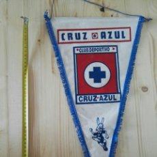 Coleccionismo deportivo: BANDERIN CRUZ AZUL MÉXICO FÚTBOL. Lote 119375307