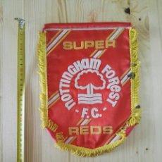 Coleccionismo deportivo: BANDERIN NOTTINGHAM FOREST FUTBOL. Lote 119375531