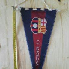 Coleccionismo deportivo: BANDERIN FC BARCELONA FÚTBOL ANTIGUO. Lote 119377268