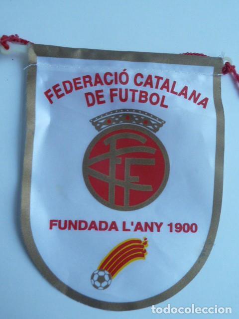 BANDERIN DE LA FEDERACION CATALANA DE FUTBOL (Coleccionismo Deportivo - Banderas y Banderines de Fútbol)