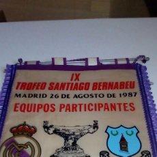 Coleccionismo deportivo: BANDERINES REAL MADRID 42X30. Lote 121134255