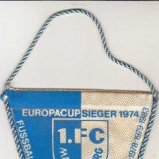 Coleccionismo deportivo: BANDERIN FC MAGDEBURGO.. Lote 121511227