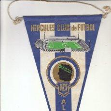 Coleccionismo deportivo: BANDERÍN HERCULES CF. Lote 139028761