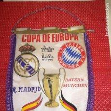 Coleccionismo deportivo: REAL MADRID - F. C. BAYERN MUNCHEN - COPA DE EUROPA - AÑO 1988 - CUARTOS DE FINAL. Lote 122144555