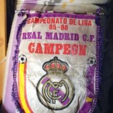 Coleccionismo deportivo: CAMPEONATO DE LIGA 85-86. REAL MADRID C.F. CAMPEON.. Lote 122551135
