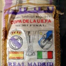Coleccionismo deportivo: COPA DE LA U.E.F.A. REAL MADRID - F.C. INTERNAZIONALE.. Lote 122552203
