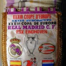 Coleccionismo deportivo: XXXIII COPA DE EUROPA. REAL MADRID - P.S.V.. Lote 122553831