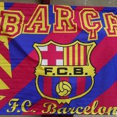 Coleccionismo deportivo: FC BARCELONA BARÇA GRAN BANDERA TAMAÑO GRANDE. Lote 123053411