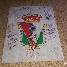 Coleccionismo deportivo: ESCUDO DEL REAL BURGOS DEL AÑO DEL ASCENSO A SEGUNDA B....1985.... Lote 123509287