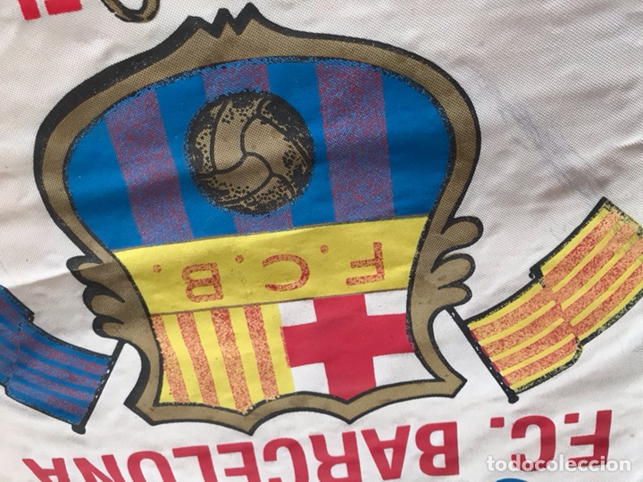 Coleccionismo deportivo: Banderín Copa europa 91-92 FC Barcelona Estadi camp nou - Foto 2 - 124458947
