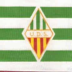 Coleccionismo deportivo: 10 BANDERITAS 15X10 UNION DEPORTIVA SANTS. Lote 192860326