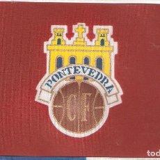 Coleccionismo deportivo: 10 BANDERITAS 15X10 CLUB DE FUTBOL PONTEVEDRA. Lote 126339015