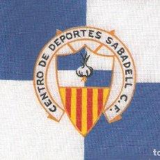 Coleccionismo deportivo: 10 BANDERITAS 15X10 CENTRO DE DEPORTES SABADELL C.F.. Lote 126339323