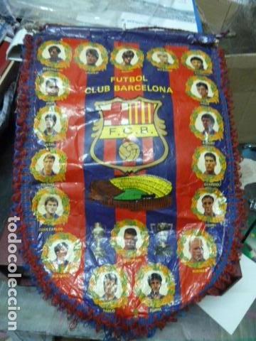 F.C.BARCELONA BANDERIN (Coleccionismo Deportivo - Banderas y Banderines de Fútbol)
