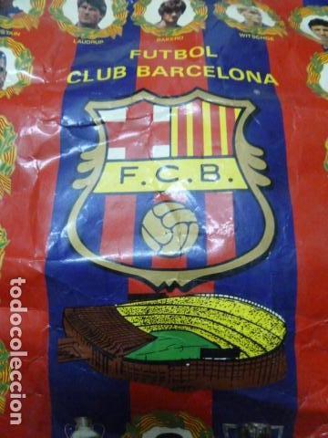 Coleccionismo deportivo: F.C.BARCELONA BANDERIN - Foto 5 - 126493403