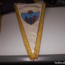 Coleccionismo deportivo: BANDERÍN CLUB DEPORTIVO ORENSE, MIDE 45 CM. DE LARGO. Lote 126581611