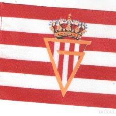 Coleccionismo deportivo: 10 BANDERITAS 15X10 DEL SPORTING DE GIJON. Lote 182972328