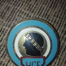 Coleccionismo deportivo: PLACA PARA COCHE FUTBOL HERCULES CF AÑOS 60. Lote 127974196